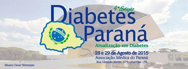 Diabetes Parana - 28 e 29 de Agosto de 2015